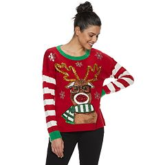 Women's Holiday Crewneck Sweater
