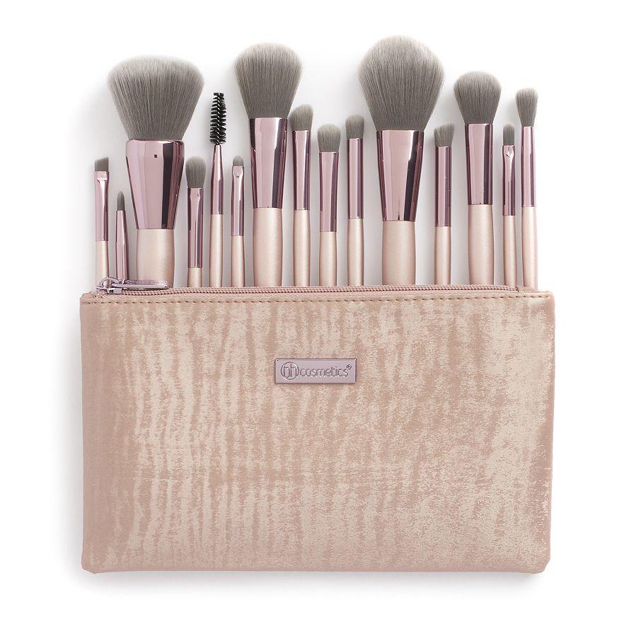 BH Cosmetics Lavish Elegance 15-pc  Makeup Brush Set