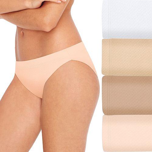 Women's Hanes 4-Pack Ultimate Breathable Comfort Ultra Light Bikini 42ULBK
