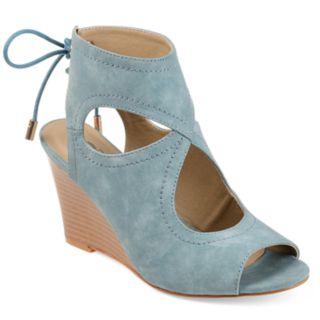 Journee Collection Women's Camia Wedge Sandals