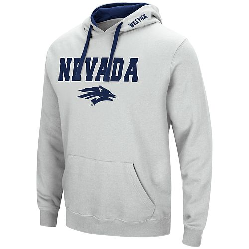 Men's Nevada Wolf Pack Pullover Fleece Hoodie