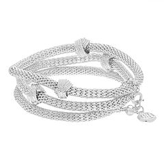 Dana Buchman Mesh Knotted Stretch Bracelet Set