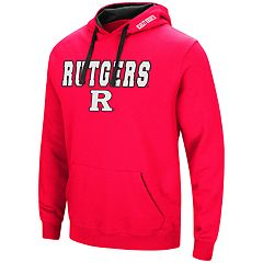 Men's Rutgers Scarlet Knights Pullover Fleece Hoodie