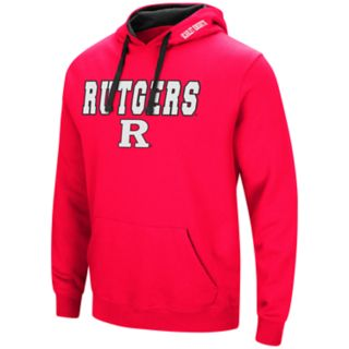 Men's Rutgers Scarlet Knights Pullover Fleece Hoodie