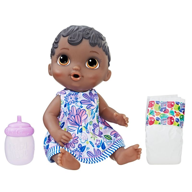 Baby Alive Lil' Sips Baby Doll, Multicolor