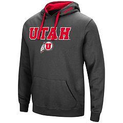Men's Utah Utes Pullover Fleece Hoodie