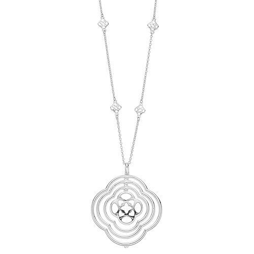 Dana Buchman Medallion Pendant Necklace