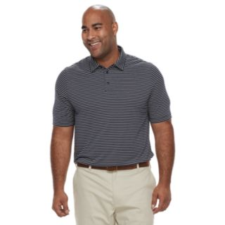 Big & Tall Croft & Barrow® Classic-Fit Striped Performance Polo