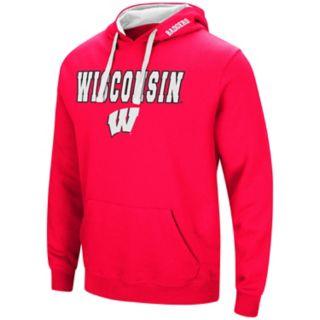 Men's Wisconsin Badgers Pullover Fleece Hoodie