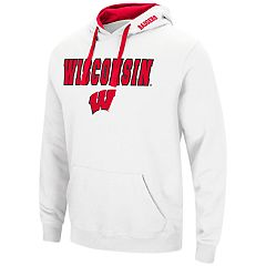 Men's Wisconsin Badgers Pullover Fleece Hoodie