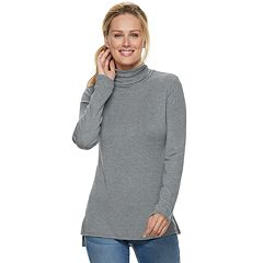 Women's Apt. 9® Ribbed Turtleneck Top