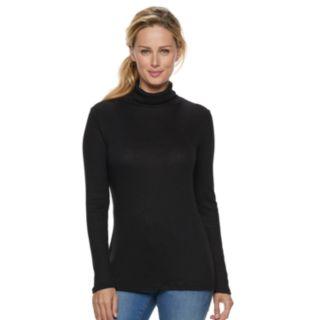 Women's Apt. 9® Ribbed Turtleneck Top