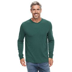 Men's Croft & Barrow® Classic-Fit Easy-Care V-Neck Tee