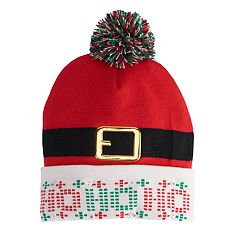 Men's Christmas Pom-Pom Bean