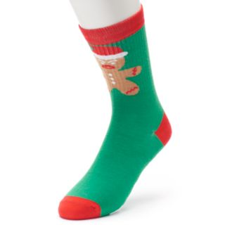 Men's Novelty Holiday Crew Socks