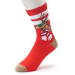Men's Novelty Holiday Crew Socks