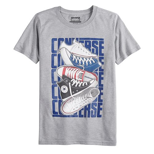Boys 8-20 Converse Stacked Sneaker Tee