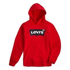 Boys 8-20 Levi's  Batwing Pull-Over Fleece Hoodie