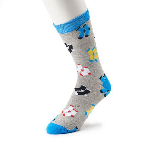 Men's Novelty Graphic Socks