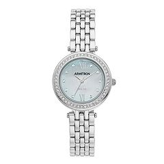 Armitron Women's Crystal Solar Watch - 75/5623MPSV