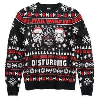 Men's Star Wars Dark Side Ugly Christmas Sweater