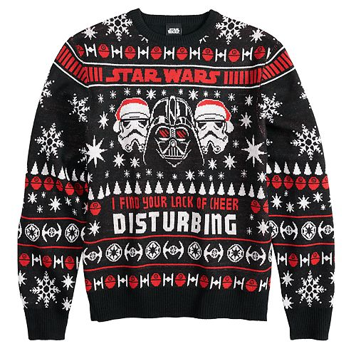 Men's Star Wars Dark Side Ugly Christmas Sweater