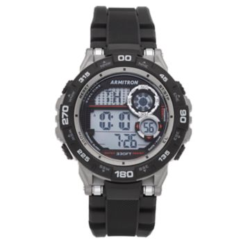 Armitron Pro Sport Digital Chronograph Watch - 40/8441BLK