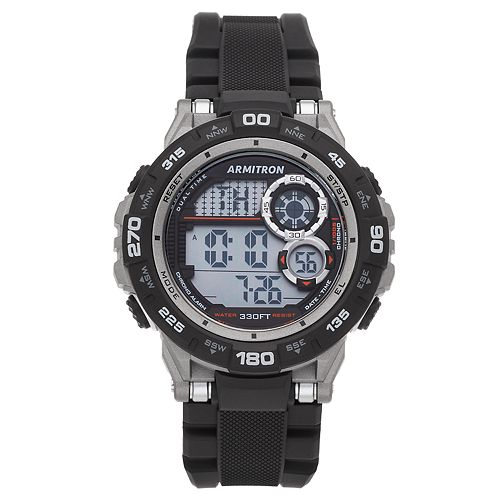 Armitron Pro Sport Digital Chronograph Watch - 40/8441BLK