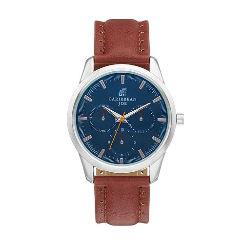 Caribbean Joe Men's Chronograph Watch - CJ7059SL
