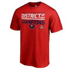Men's Washington Capitals 2018 Stanley Cup Champions District of Champions Tee