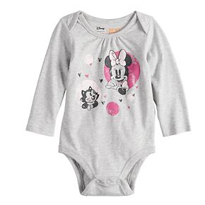 Disney's Minnie Mouse Baby Girls Softest Bodysuit by Disney/Jumping Beans®
