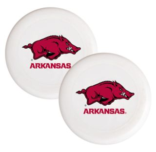 Arkansas Razorbacks 2-Pack Flying Disc Set