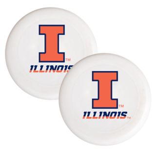 Illinois Fighting Illini 2-Pack Flying Disc Set