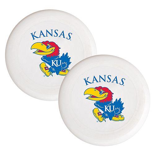 Kansas Jayhawks 2-Pack Flying Disc Set