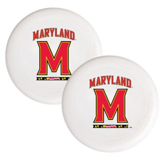 Maryland Terrapins 2-Pack Flying Disc Set