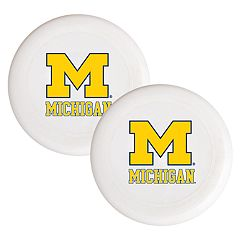 Michigan Wolverines 2-Pack Flying Disc Set