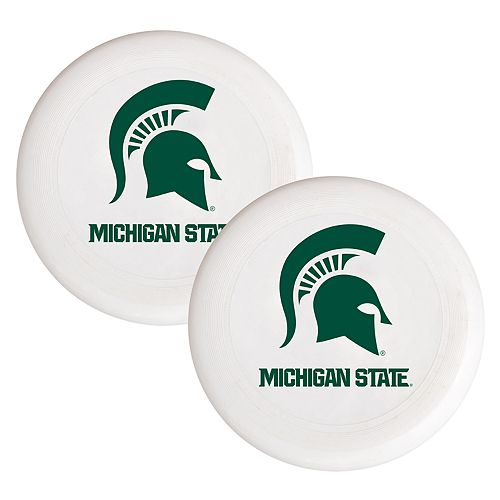 Michigan State Spartans 2-Pack Flying Disc Set