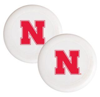 Nebraska Cornhuskers 2-Pack Flying Disc Set
