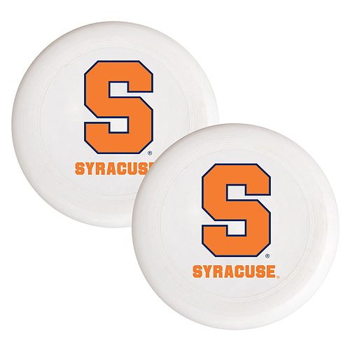 Syracuse Orange 2-Pack Flying Disc Set
