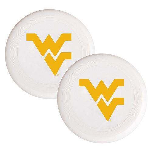 West Virginia Mountaineers 2-Pack Flying Disc Set