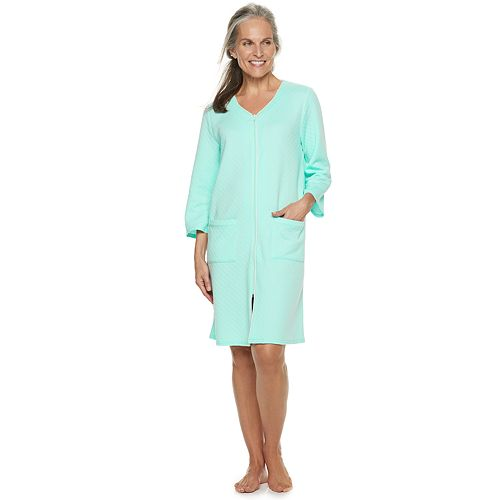 Petite Croft & Barrow® Quilted Duster Robe