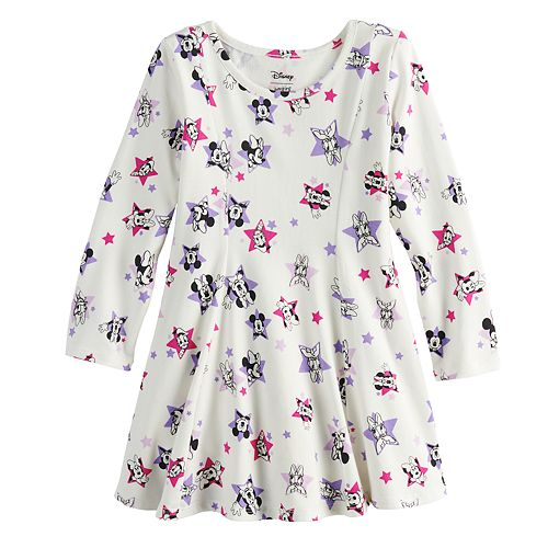 Disney's Mickey Mouse Club Toddler Girl Princess Seam Printed Dress by Jumping Beans®