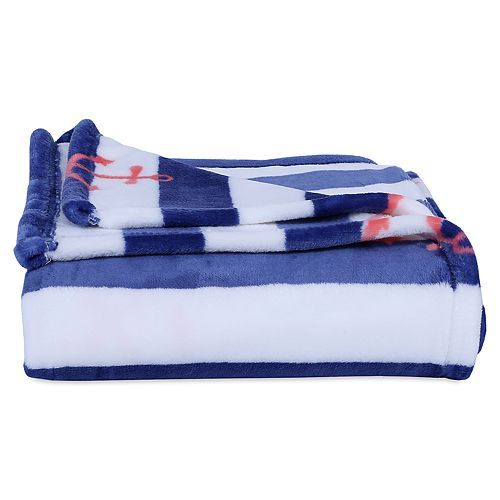 Better Living Anchors & Stripes Throw