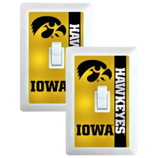 Iowa Hawkeyes 2-Pack Nightlight Light Switch