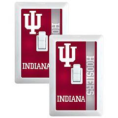 Indiana Hoosiers 2-Pack Nightlight Light Switch