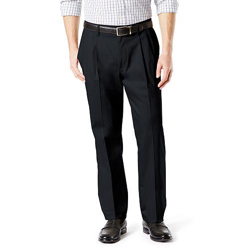 2a5ea3a7 Men's Dockers® Signature Khaki Lux Classic-Fit Stretch Pleated Pants D3