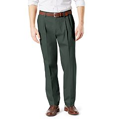 Men's Dockers® Signature Khaki Lux Classic-Fit Stretch Pleated Pants D3