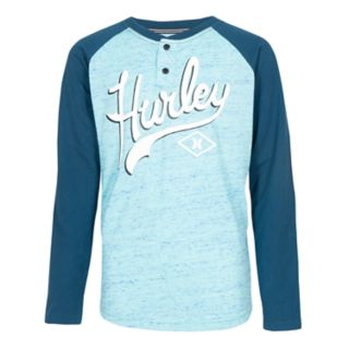 Boys 8-20 Hurley Cloud Slub Raglan Tee