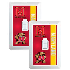 Maryland Terrapins 2-Pack Nightlight Light Switch