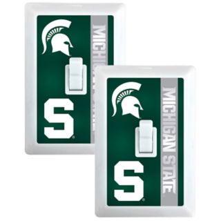 Michigan State Spartans 2-Pack Nightlight Light Switch